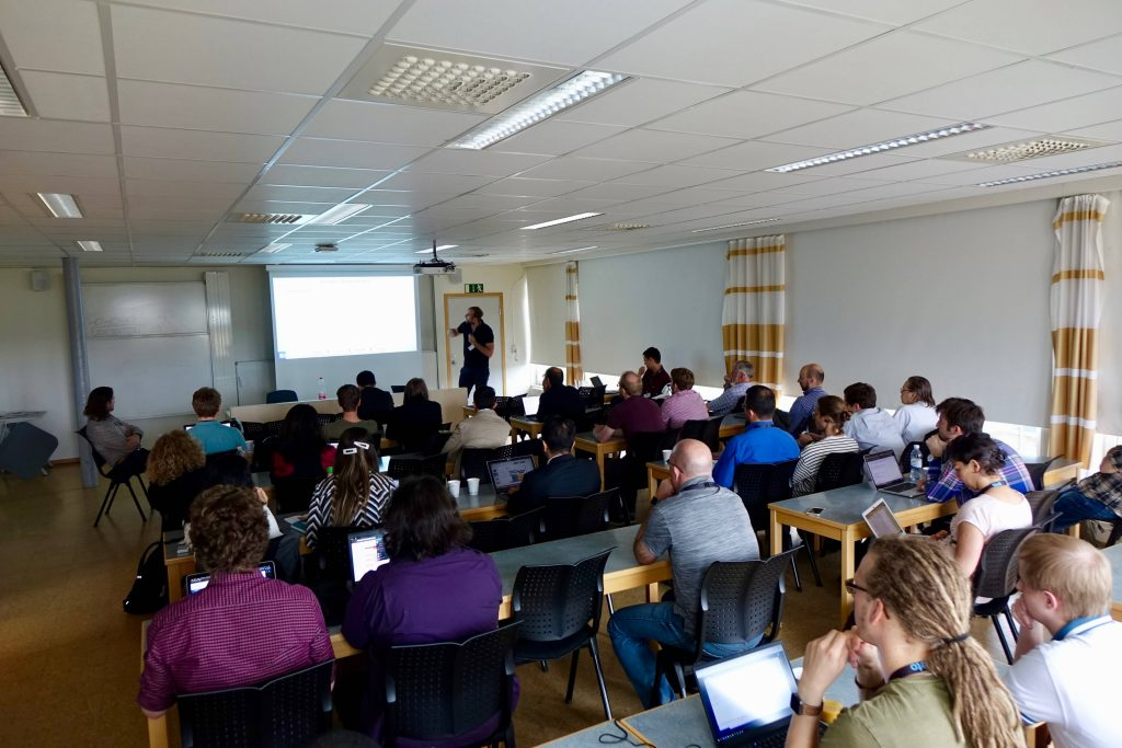The 1st Workshop on Evaluations and Measurements in Self-Aware Computing Systems (EMSAC) and the 3rd Workshop on Self-Aware Computing (SeAC), both joint with the 1st International Workshop on Self-Protecting Systems (SPS) were a great success with up to 40 participants.